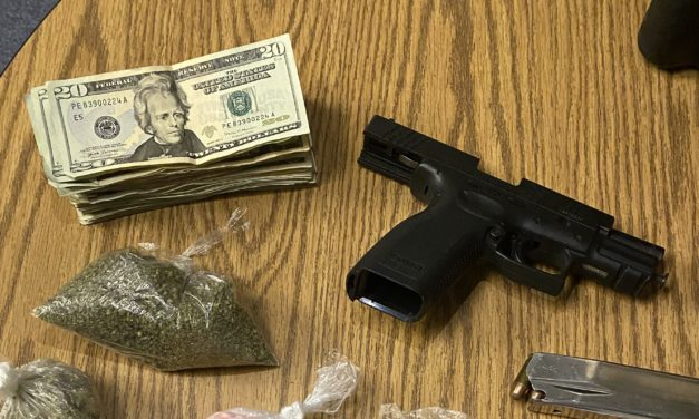 Brookfield police confiscate drugs, gun