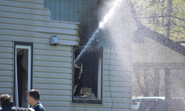 Fire leaves family homeless, kills pets