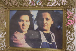 Barbara Gething is shown at about age 16 or 17 with her mon, Theresa-Contributed photo.