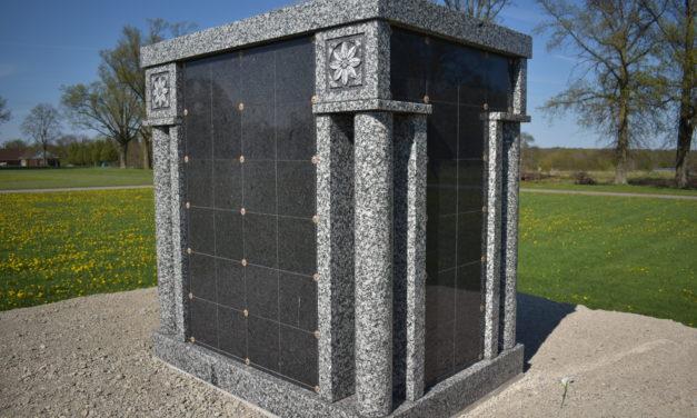Township sets columbarium burial pricing