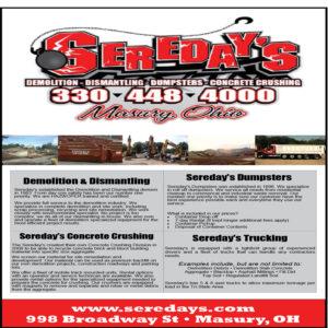 Sereday's, Masury, OH