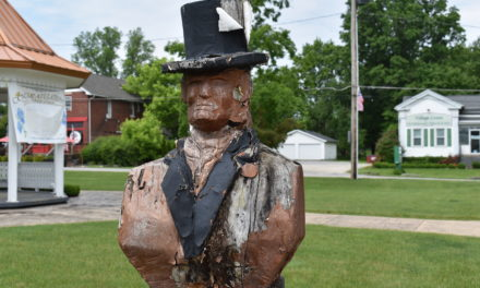 Trustees approve Hinckley carving removal