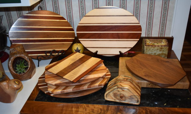 Impatient wood artist finds reason to slow down