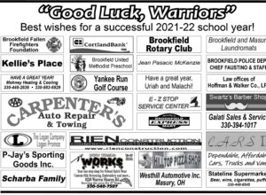 Back to School Ad 1: Good Luck, Warriors!