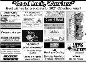 Back to School Ad 2: Good Luck Warriors!