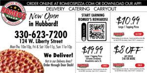 Romeo's Pizza, Hubbard OH