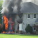 House fire on Sharon Hogue Road
