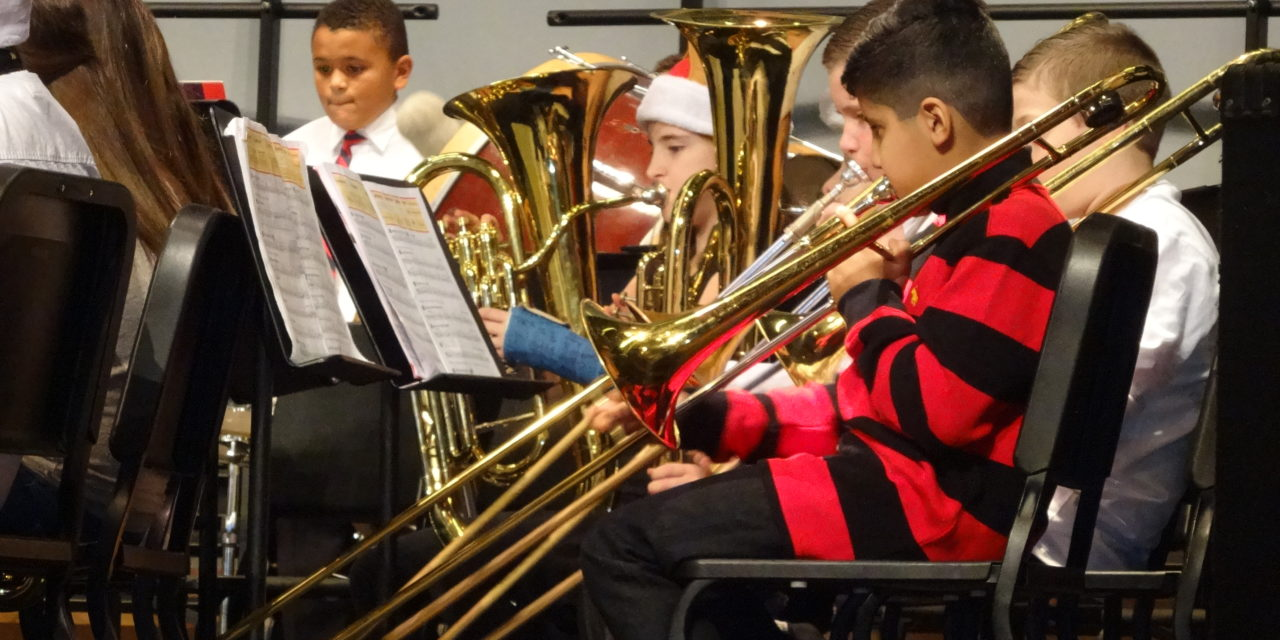 Brookfield Middle School holiday band concerts