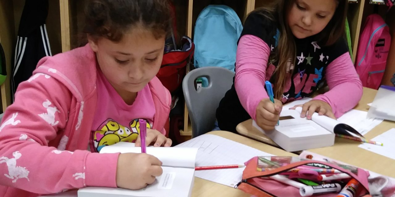 Third-grade is the charm for dictionary giveaway