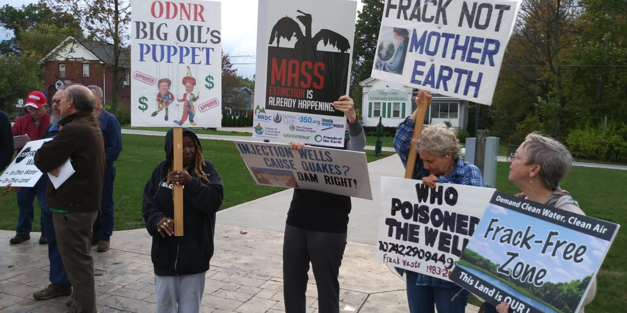 Residents seek to STOP injection wells