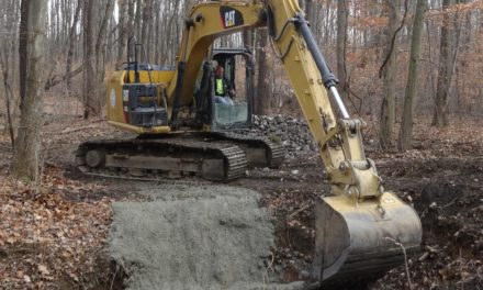 State completes mine project in township park