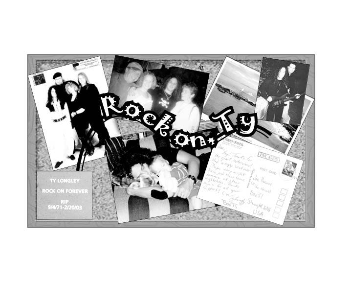 Memories of Ty Longley