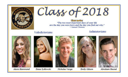 Brookfield graduates 2018 class