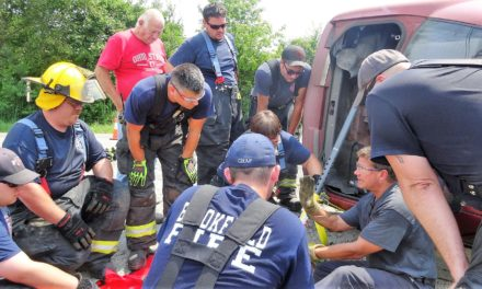 Firefighters train on new tools