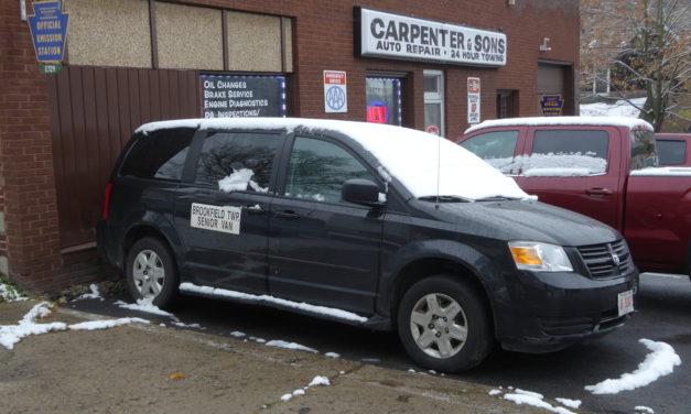 Senior van breaks down amid driver shortage