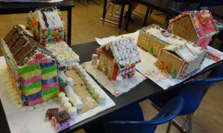 Gingerbread challenge is extra sweet