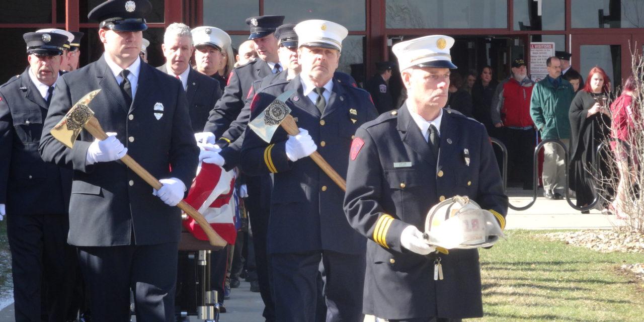 Last Alarm: Ex-Fire Chief laid to rest