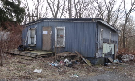 Trustees award contract to raze house