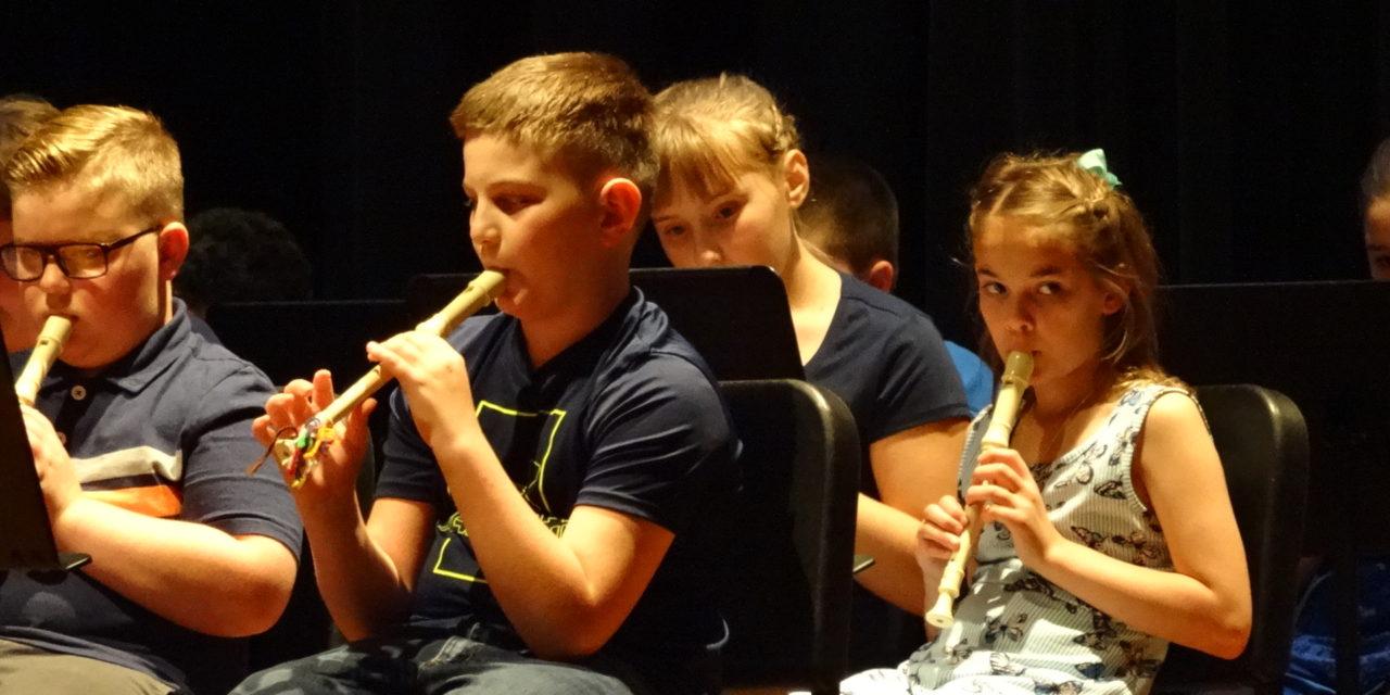 Brookfield Elementary recorder concert