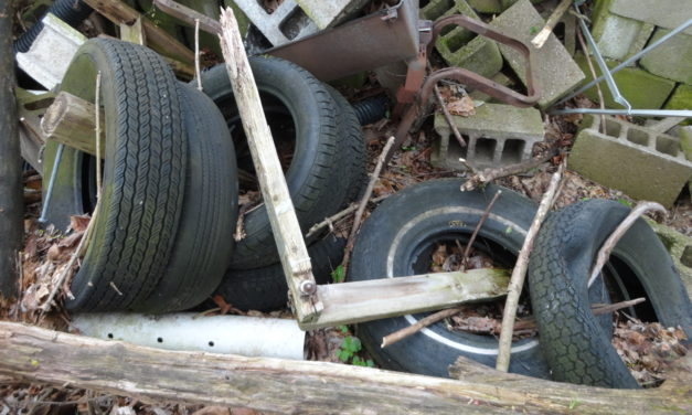 Tire collection set for May 1
