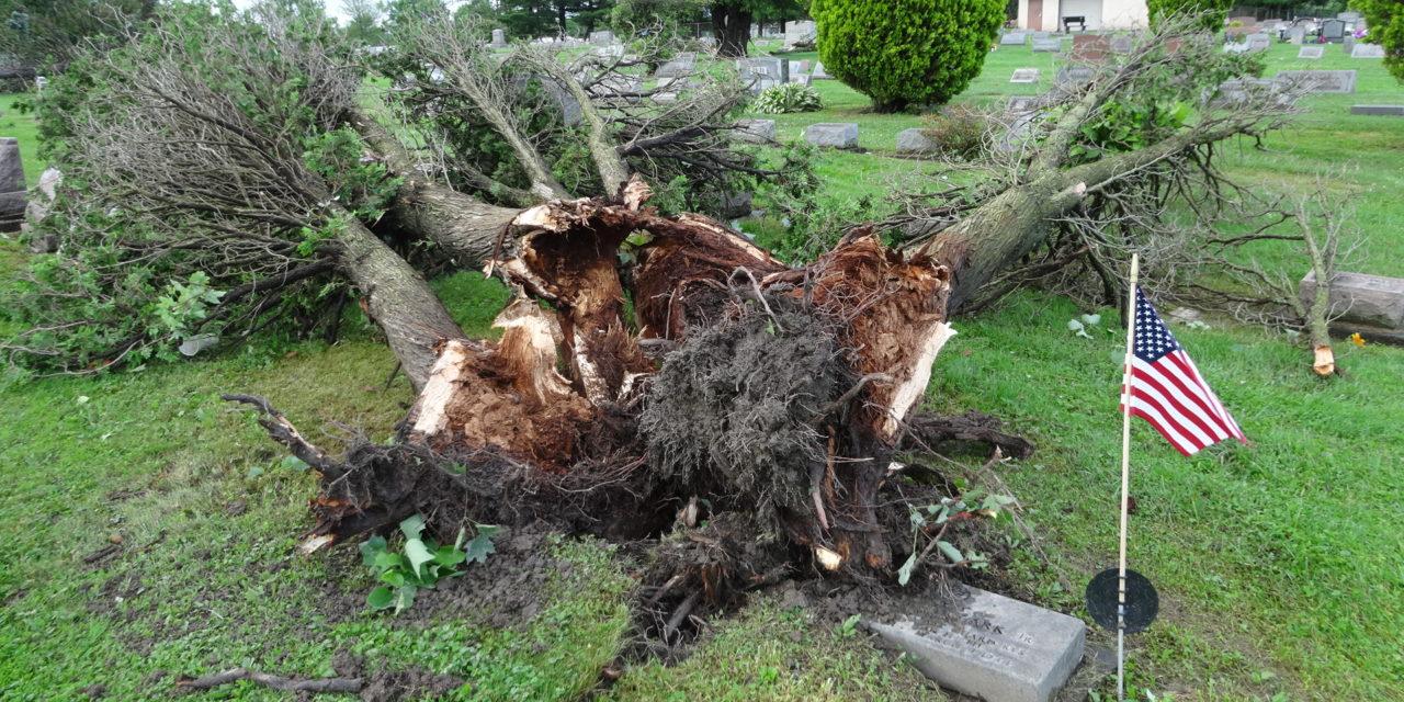 Weather service confirms tornado hit Brookfield