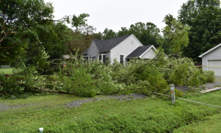 Thunderstorm impacts Brookfield Township