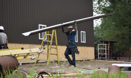 Kirila rebuilds after tornado