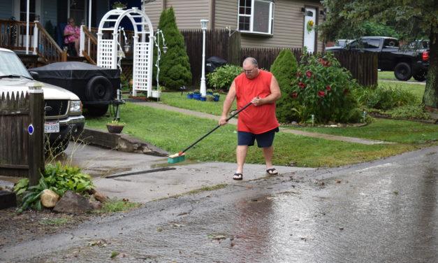 Residents seek flooding fix