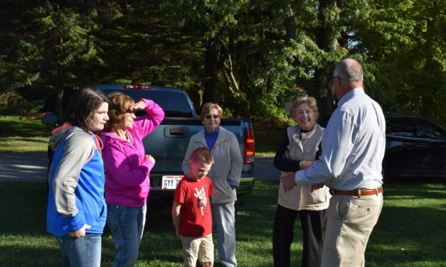 Officials, residents celebrate upcoming revitalization project