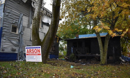 Arson suspected in fire of two houses