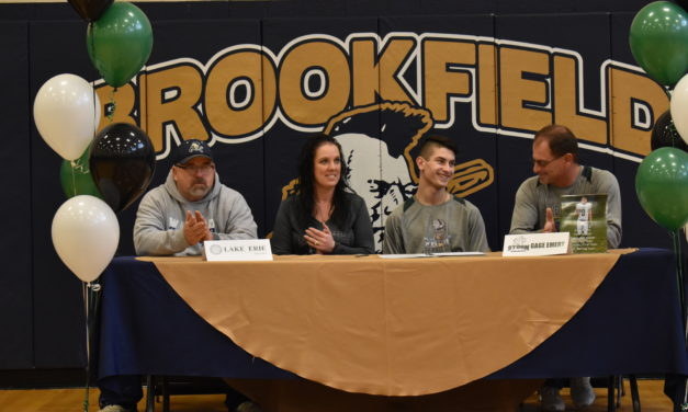 Gage Emery signs with Lake Erie College