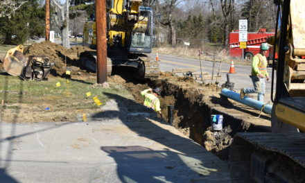 Bedford Road paving project begins