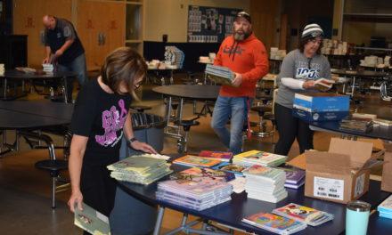 Teachers plan drive-through book fair