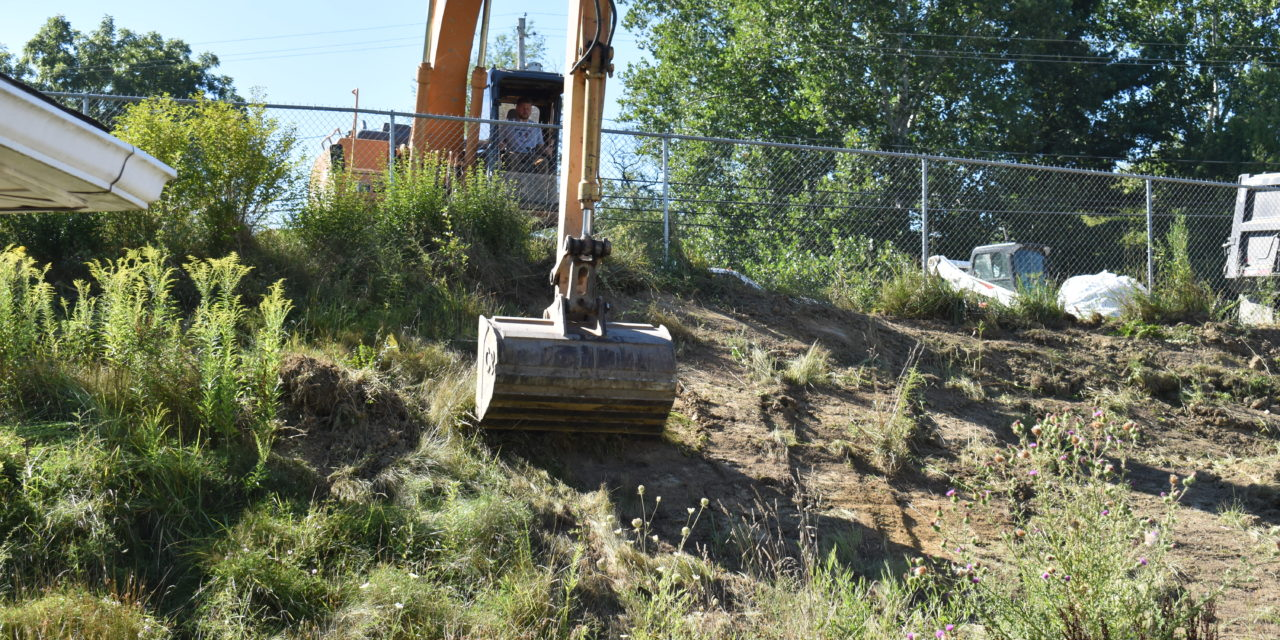 Authority hires firm to stabilize hillside