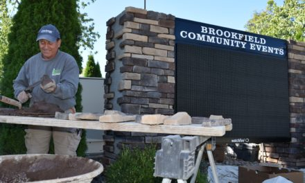 Township community events sign restoration continues