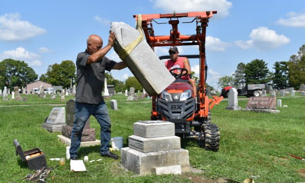Cemetery tornado cleanup is complete