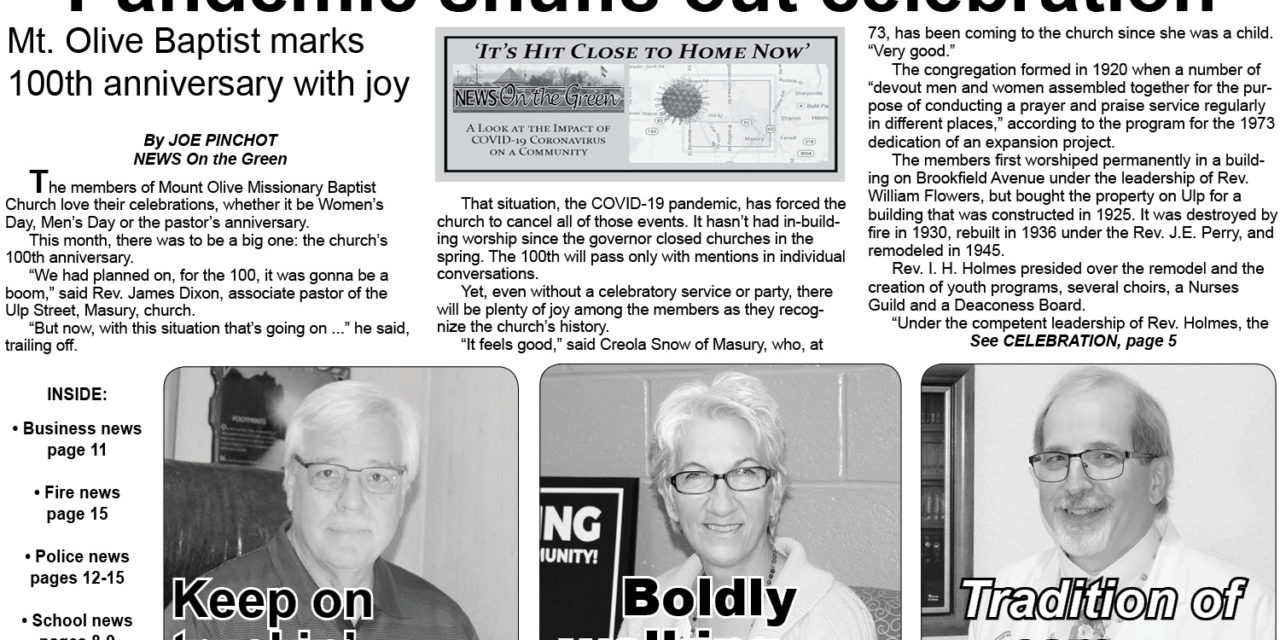 Get your copy of NEWS On the Green's October 2020 print edition