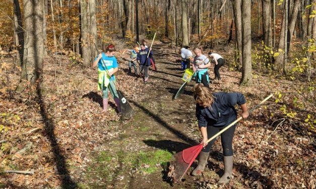 Girl Scouts brighten park with 'Troop Loop'