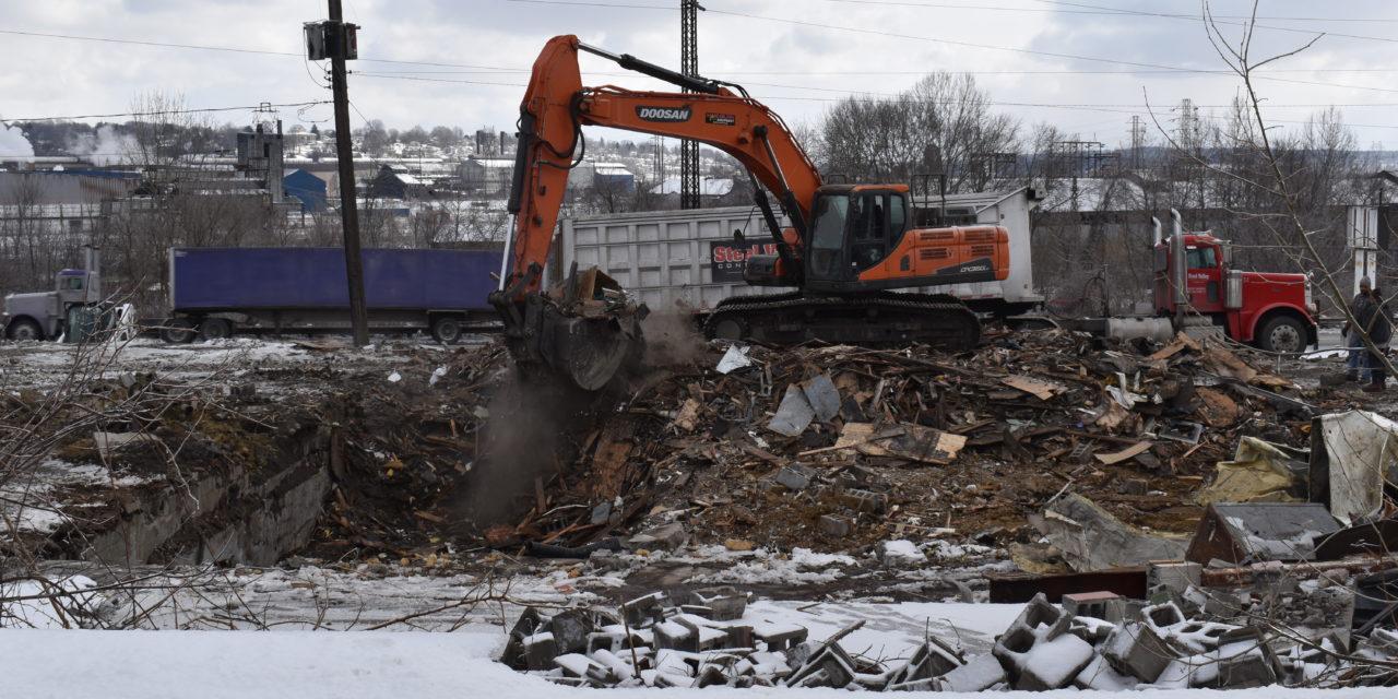 South Side Market demolition