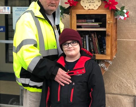 Free library honors local mail carrier's love of books