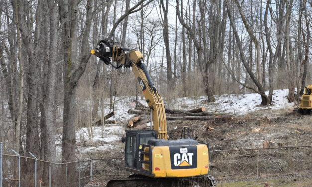 Contractor begins sewer plant work