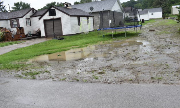 Flooding in Masury persists